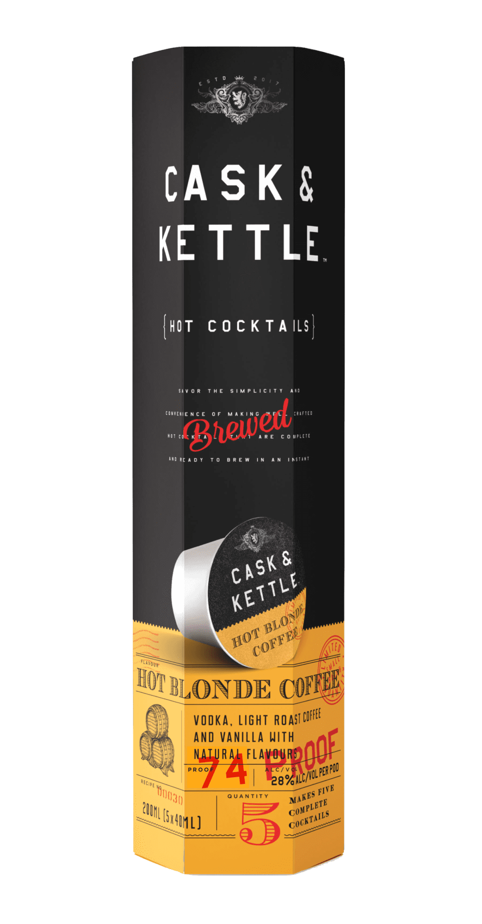 Our Cocktails - Cask & Kettle