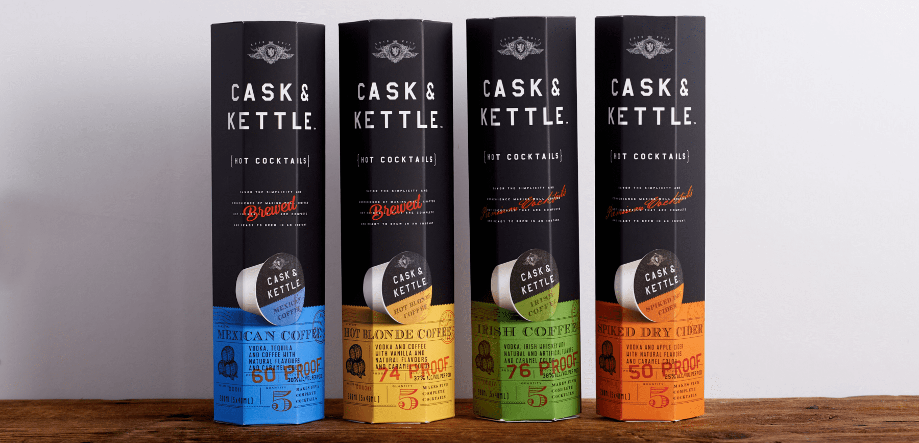 Cask & Kettle Hard Coffees